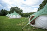 Maple Glamping tent.
