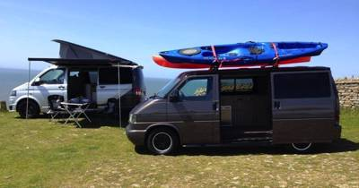 Modern T1 VW campervans from a family run business with a perfect location for exploring Wales.