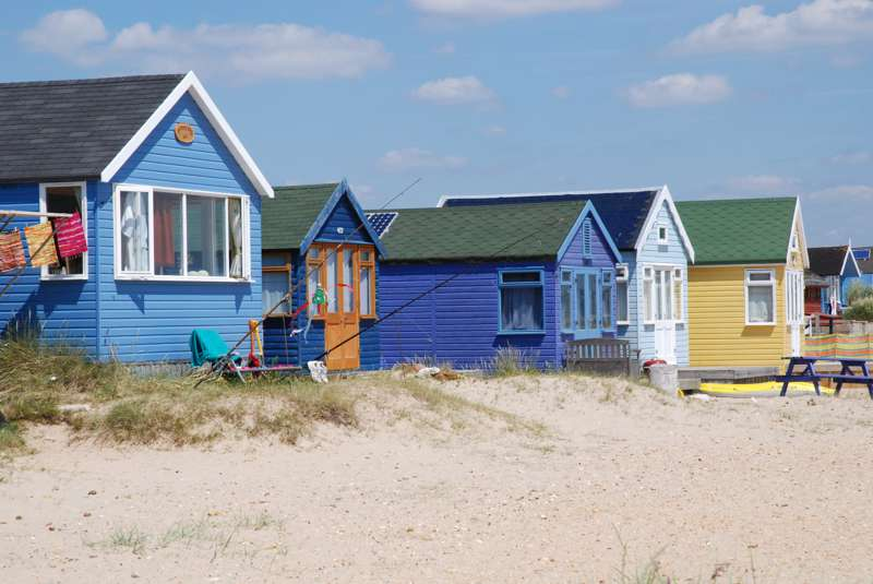 Mudeford Beach Huts The Spit, Mudeford, Dorset BH23 9ND
