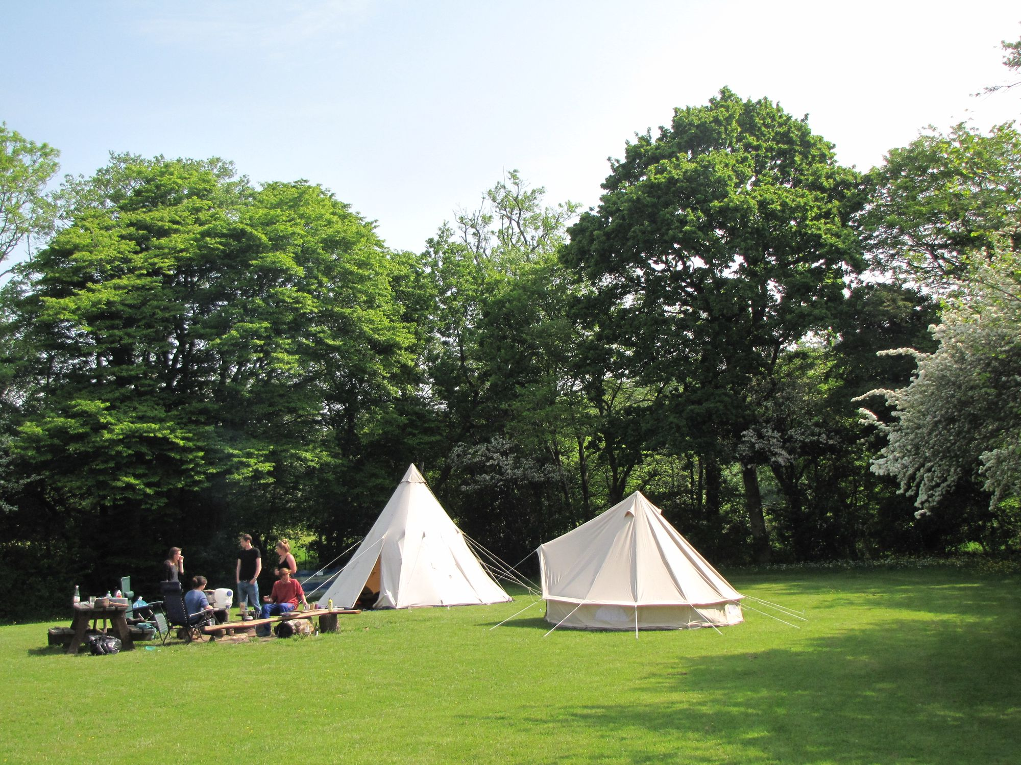 Campsites in Heathfield holidays at Glampingly