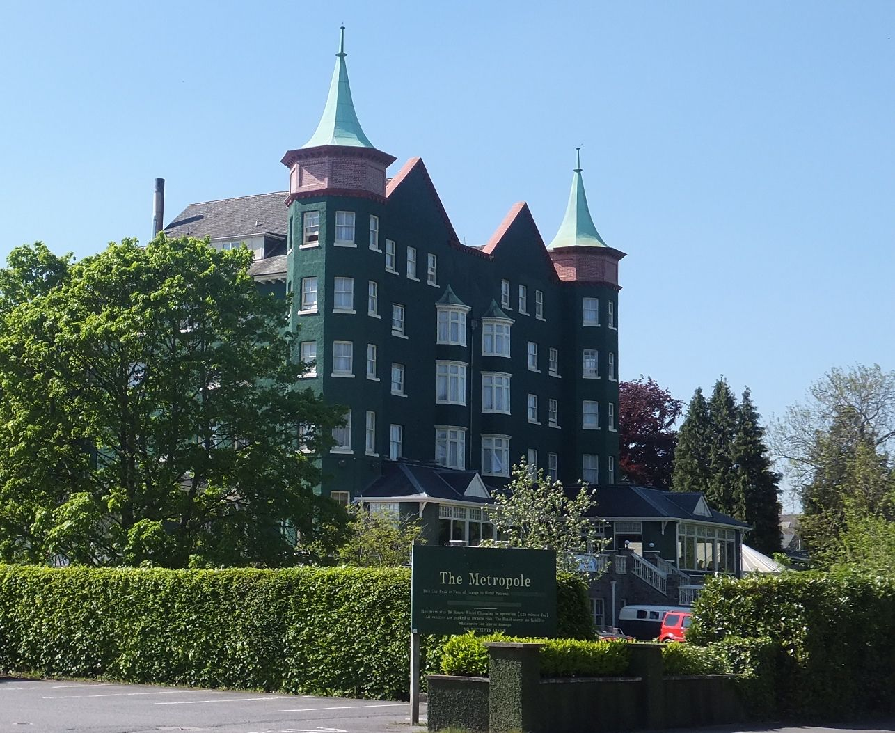 Hotels in Llandrindod Wells holidays at Cool Places