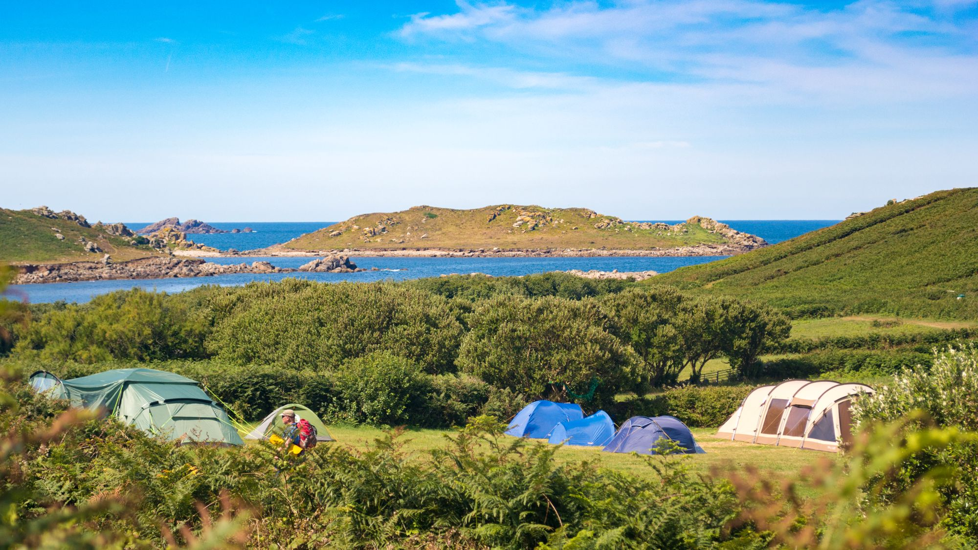 Campsites in Bryher holidays at Cool Camping