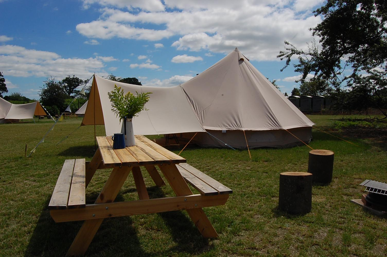 Campsites in Wroxham & Hoveton holidays at Cool Camping