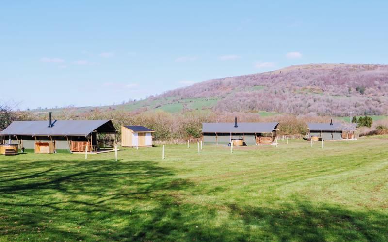 Gilestone Glamping Ltd Gilestone Farm, Station Road, Talybont, Brecon, Powys LD3 7JE