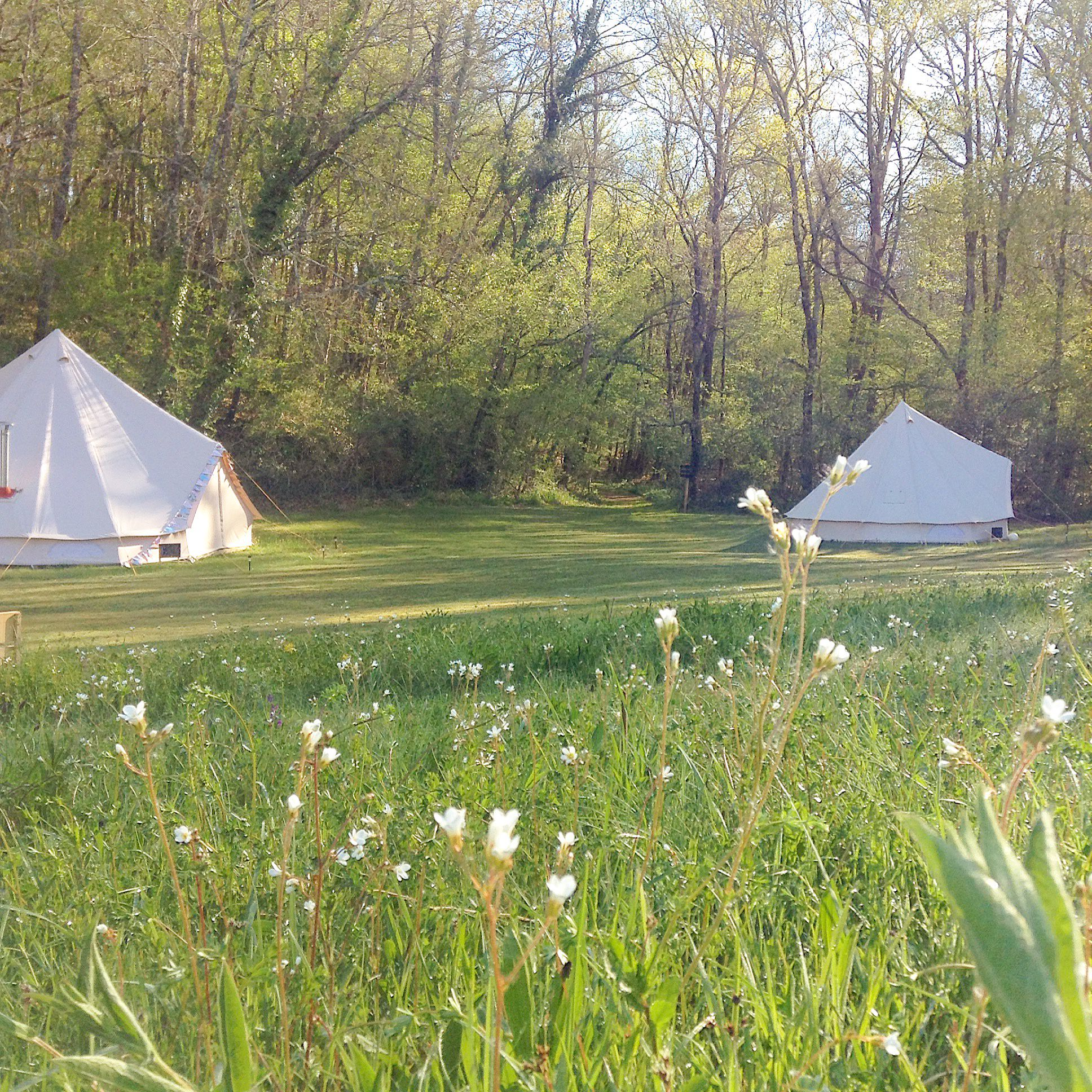 Campsites in Aquitaine holidays at Glampingly