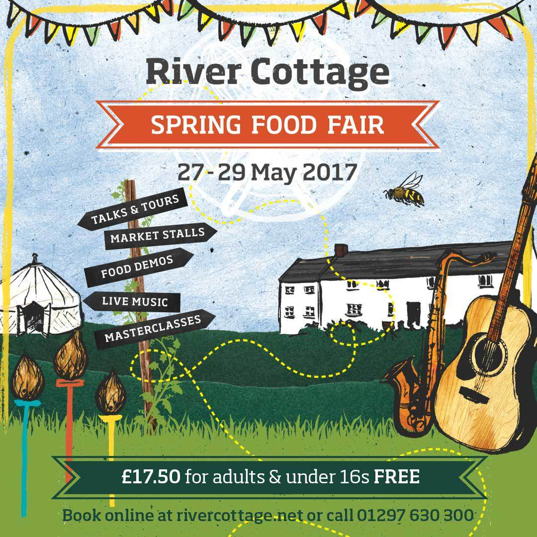 Win tickets to the River Cottage Spring Food Fair!