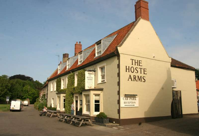 The Hoste The Green Burnham Market Norfolk PE31 8HD