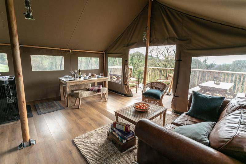 Exe Valley Glamping Bickleigh, Tiverton, Devon EX16 8RA