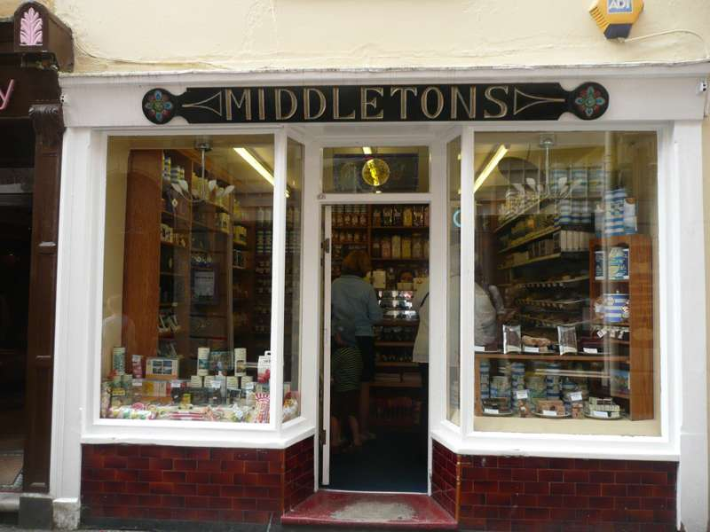 Middletons of Fowey Fudge Shop