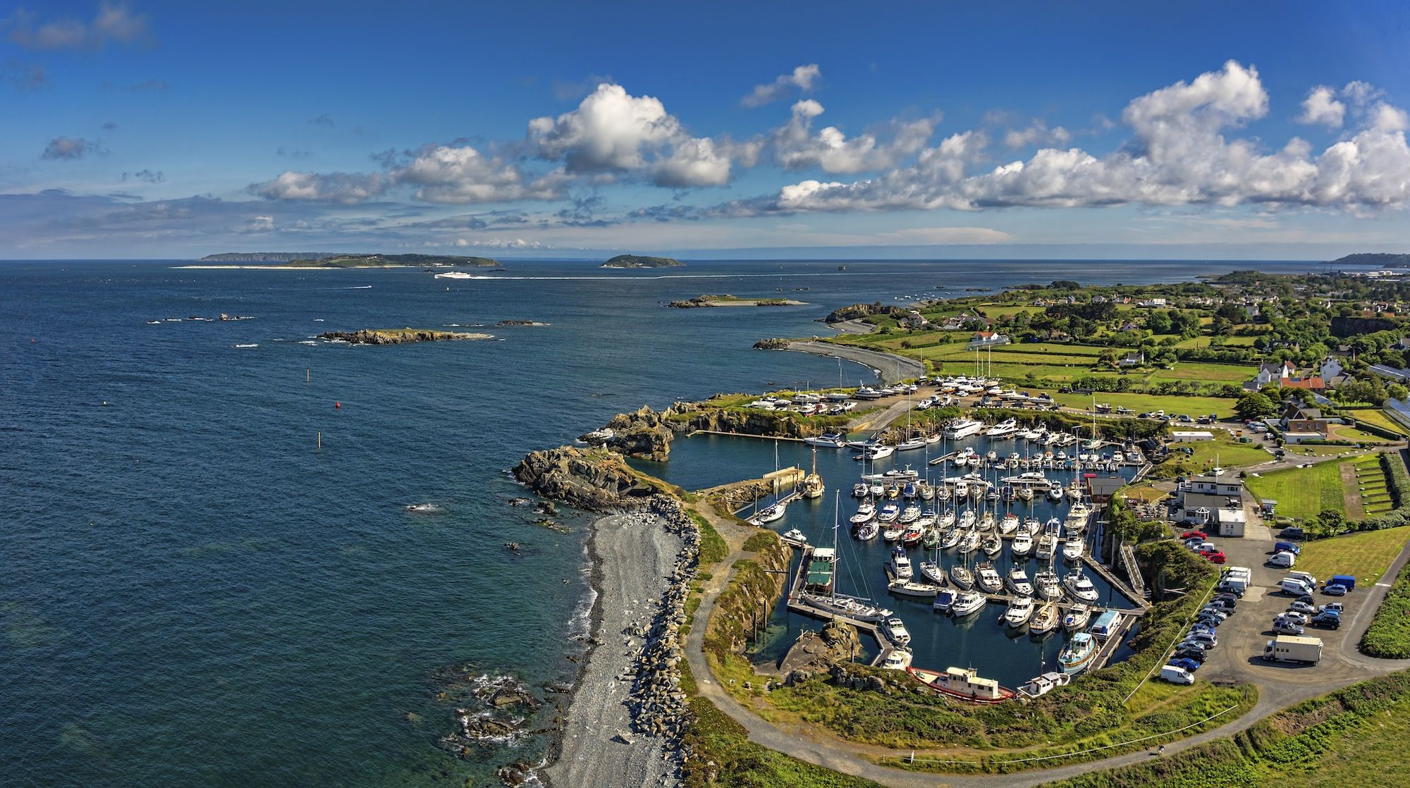 A sea-front campsite on Guernsey island that has been designed exclusively for campervans and is also home to an award-winning restaurant.