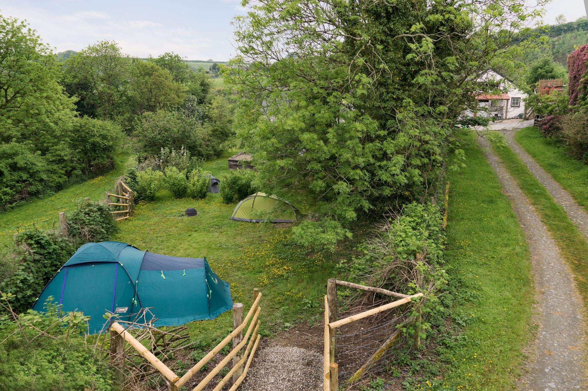 Campsites in Coed-y-Bryn – Glampingly