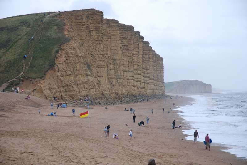 Visiting Broadchurch:  West Bay and around