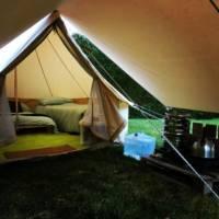 Ellesmere Glamping Bell Tent