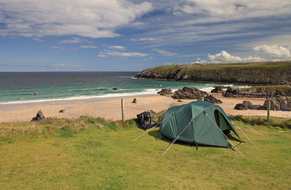 Campsites in Sutherland holidays at Cool Places