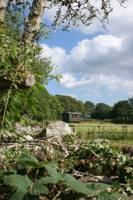 Shepherds hut set amid Wales' dramatic Black Mountains