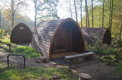 """Duo"" camping pod"