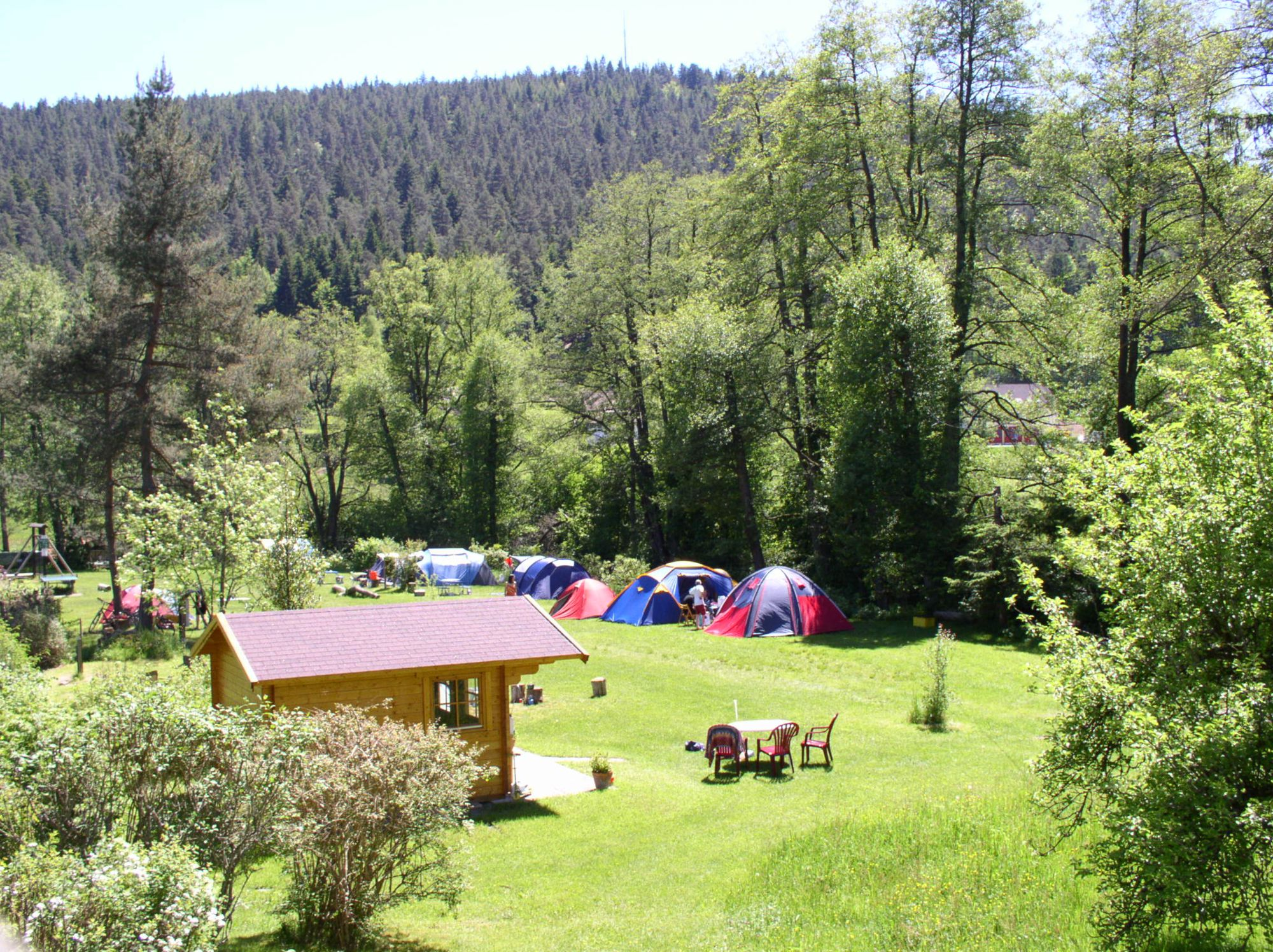 Campsites in Baden-Württemberg holidays at Cool Camping