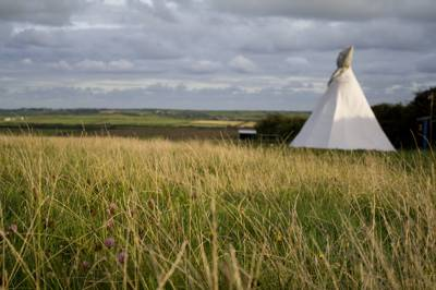 ild West come summer, with the addition of three rather magnificent tipis.