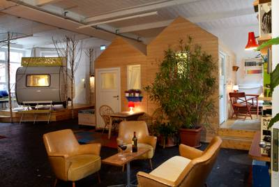 Urban glamping in one of über-cool Berlin's hippest corners. ©Jan Brockhaus.