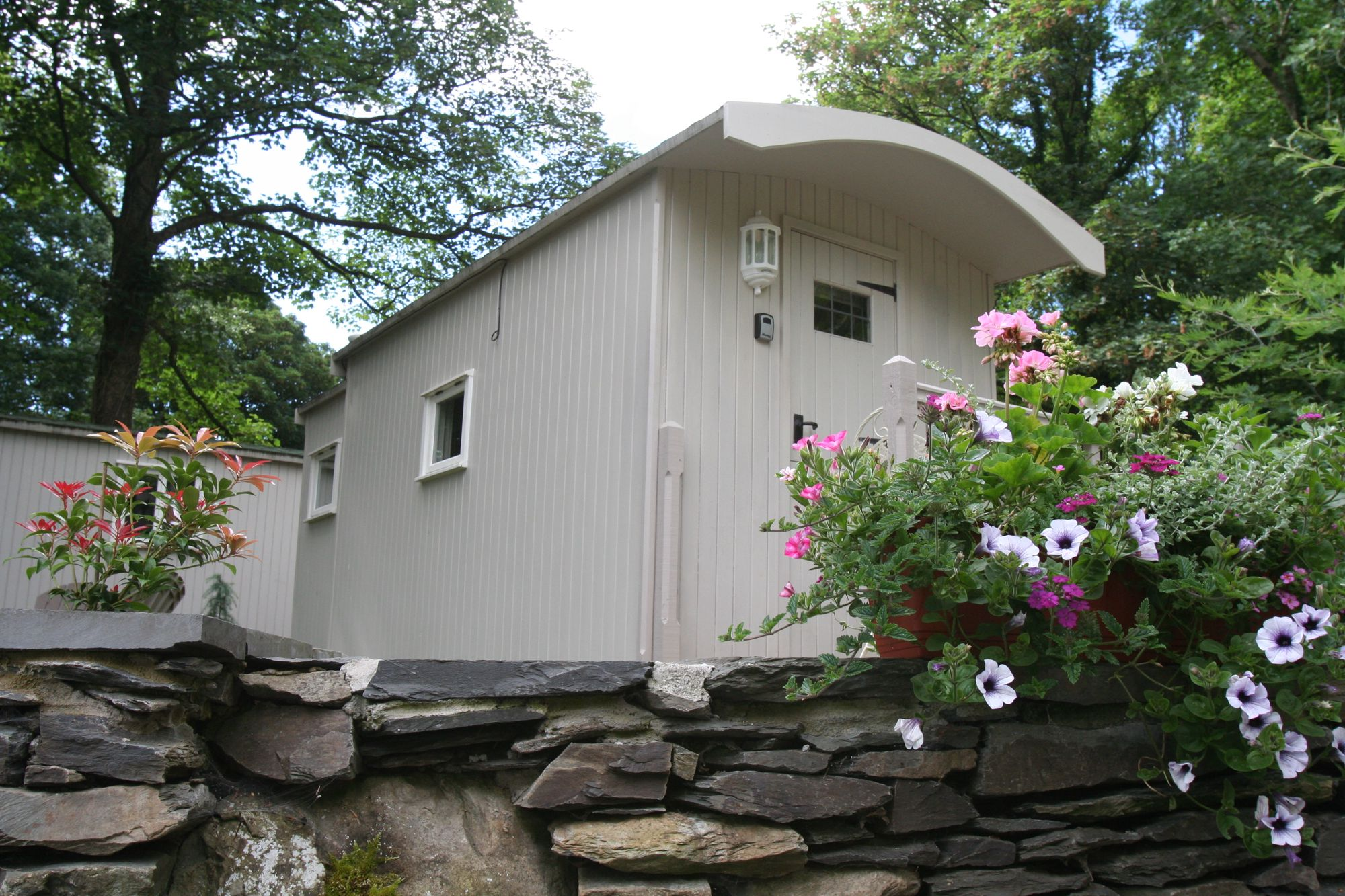 Beautiful handmade shepherd's huts in the heart of the picturesque South Lakes.