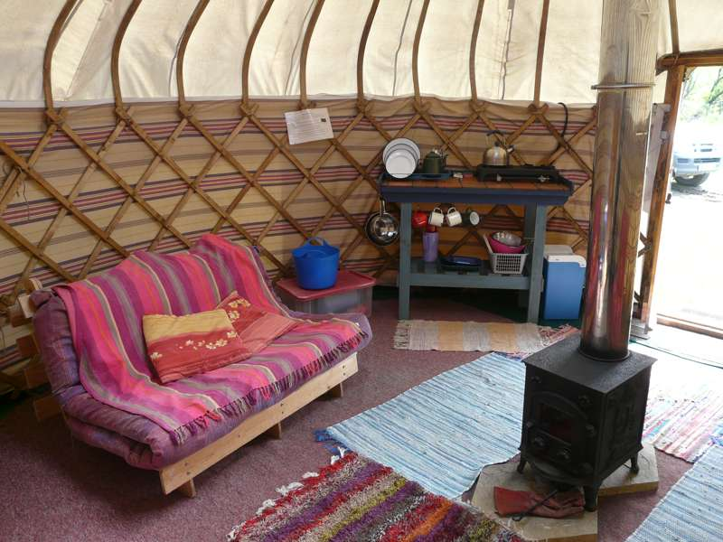 Mummy Bear Yurt