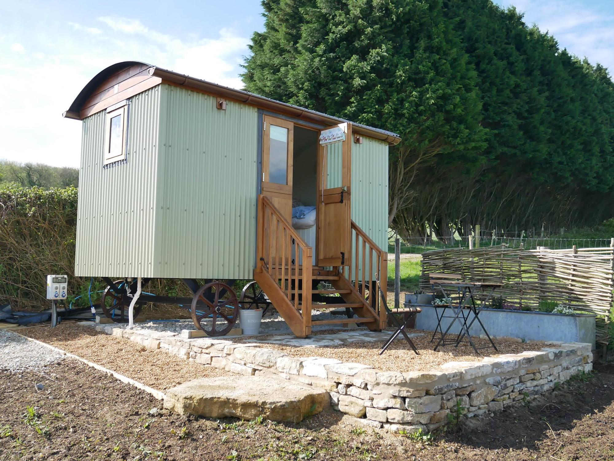 The Keepers Hut at Downshay Farm