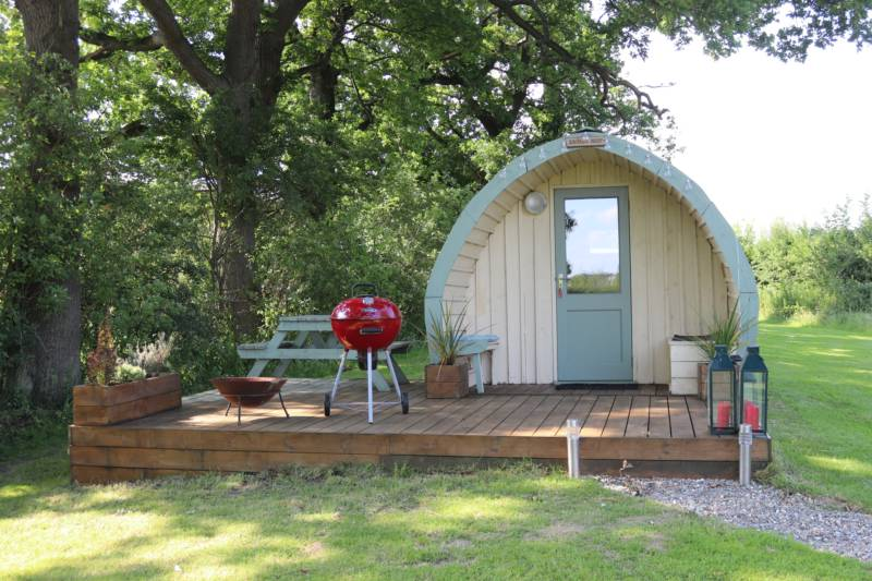 Eagles Nest Glamping Pod