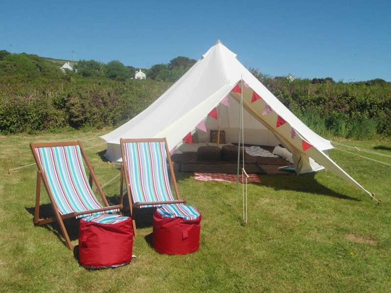 Tremorvu Campsite Tresowes Hill, Ashton, Helston, Cornwall TR13 9TA