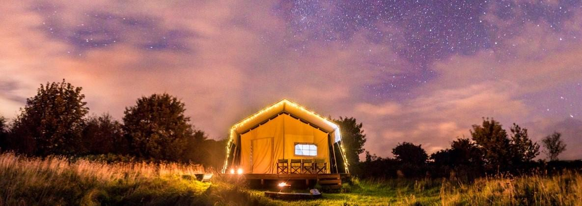 Glamping in Pembrokeshire holidays at Cool Places