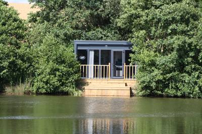 Lodge on a Lake Cefn Mably Lakes, Cefn Mably, Cardiff, Glamorgan CF3 6LP
