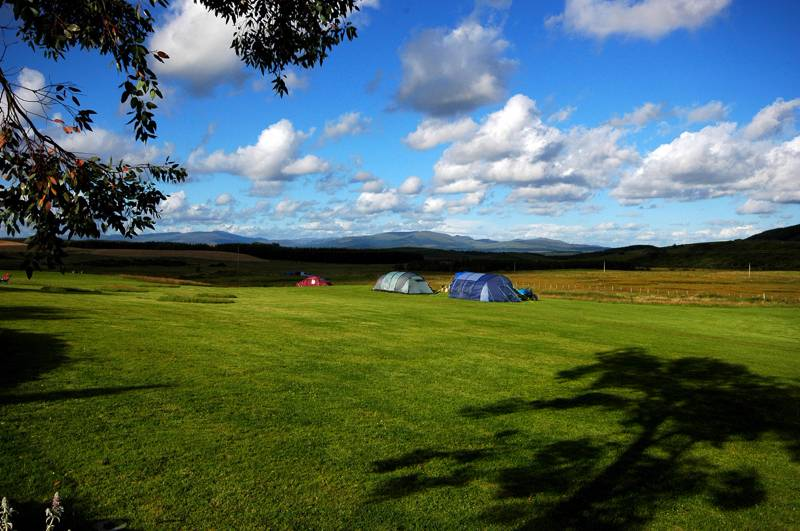 Campsites in Dumfries And Galloway