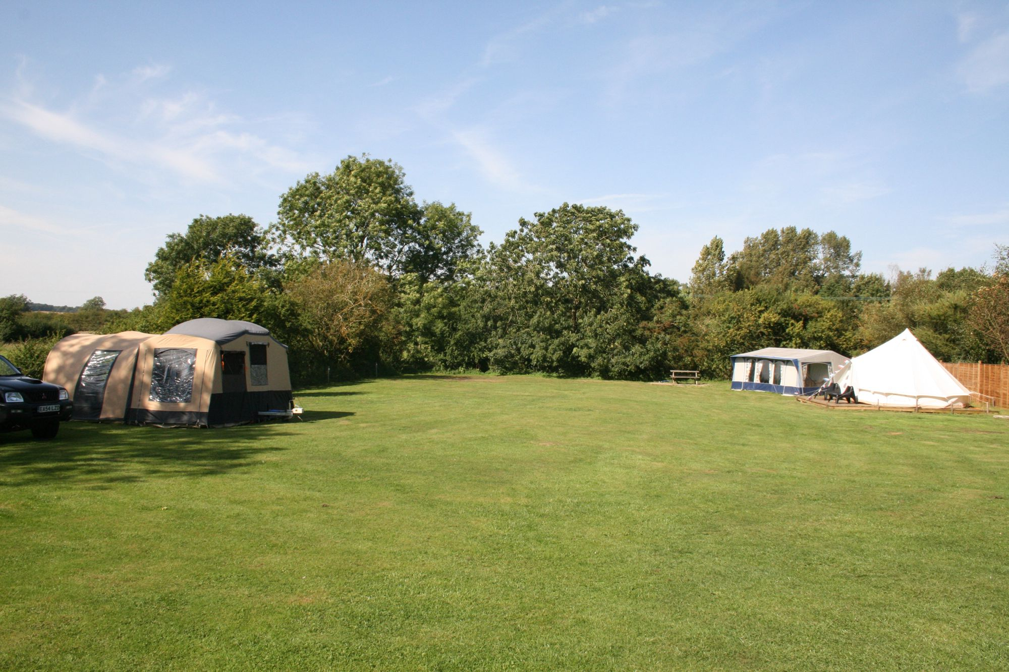 Campsites in the Lincolnshire Wolds