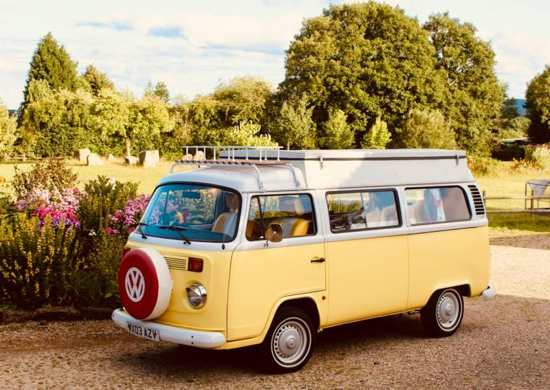 Peggy - A ray of sunshine! An iconic VW T2