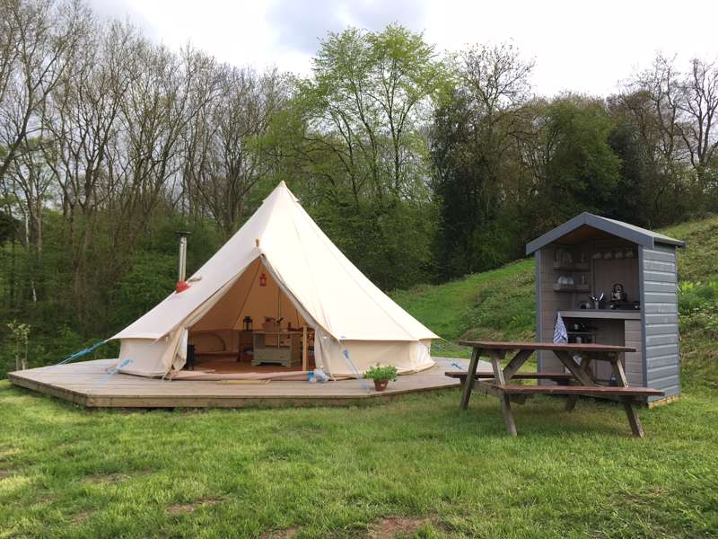 Brambles (Fully Furnished) Bell Tent