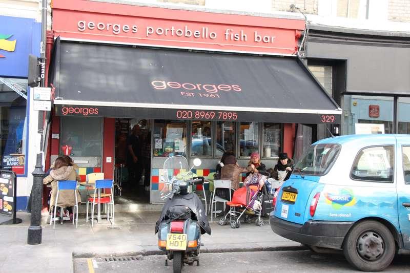 George's Portobello Fish Bar