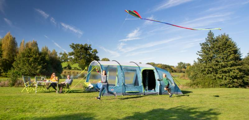 We're giving away a family tent worth over £500 every single month