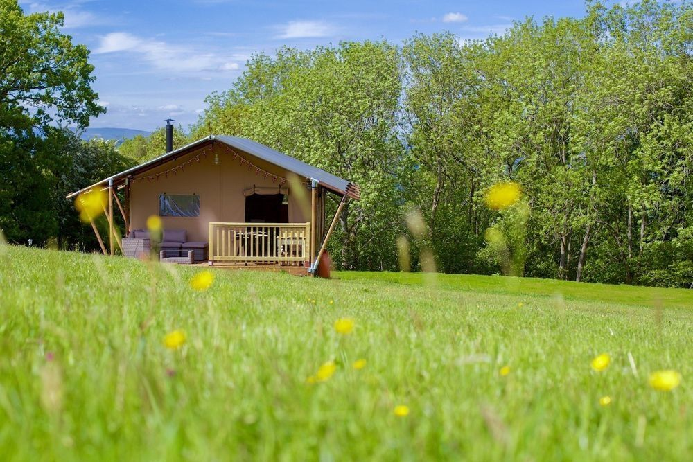 Glamping in Herefordshire