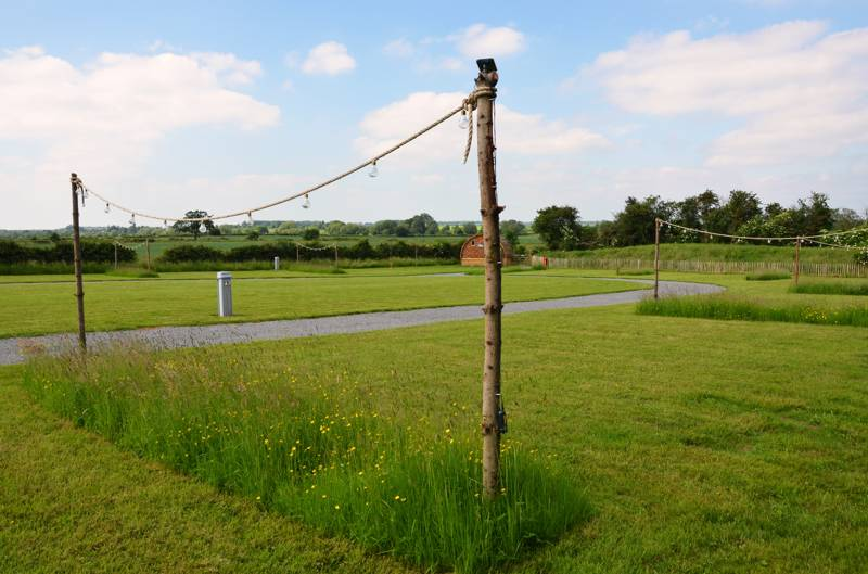 Grass Pitch with electric