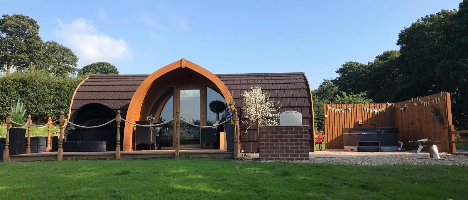 Glamping in Lancashire holidays at Cool Places
