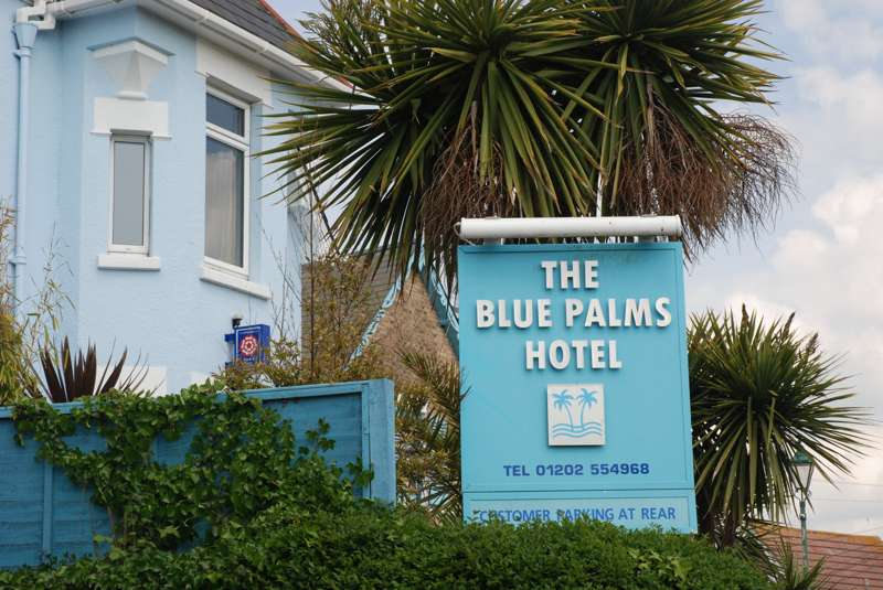 Blue Palms 26 Tregonwell Road West Cliff BH2 5NS
