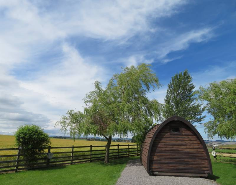 Large, Dog Friendly, Camping Pod for Two