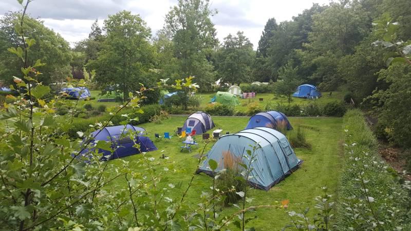 Ruberslaw Wild Woods Camping Spital Tower, near Denholm, Hawick, Scotland  TD9 8TB