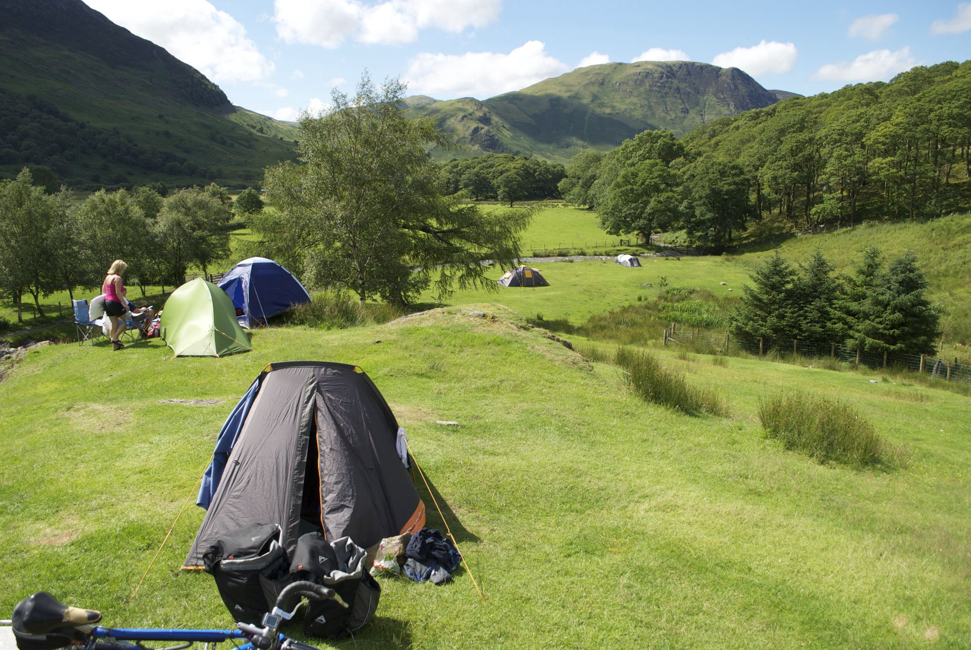 Syke Farm Camping Ground, Buttermere