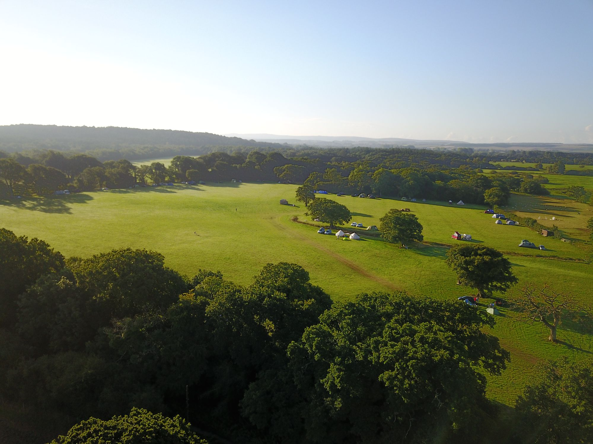 Campsites in Bere Regis holidays at Cool Camping
