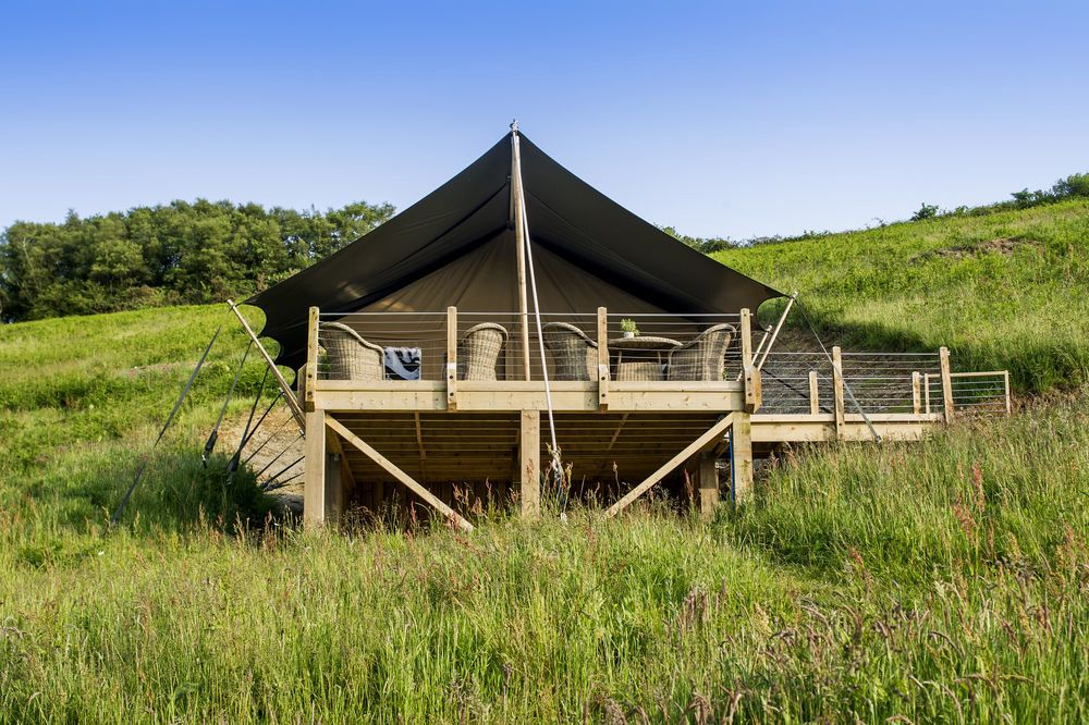 Safari Tents in Devon – The best safari tent stays in Devon