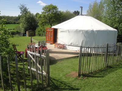 The Mongolian Yurt Upper Buckenhill Farmhouse, Fownhope, Herefordshire  HR1 4PU