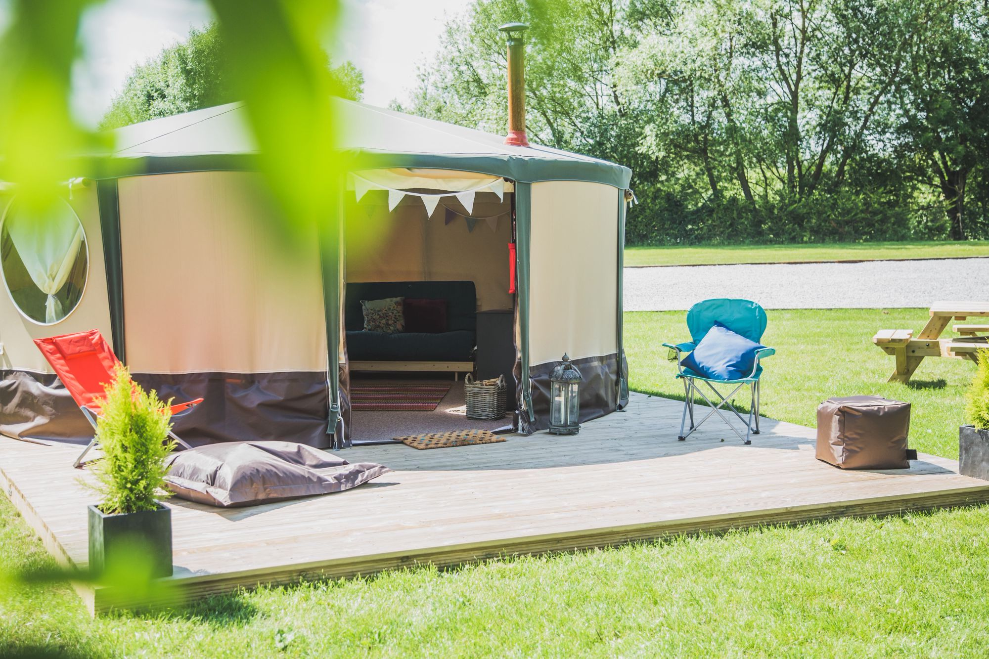 Glamping in North East England