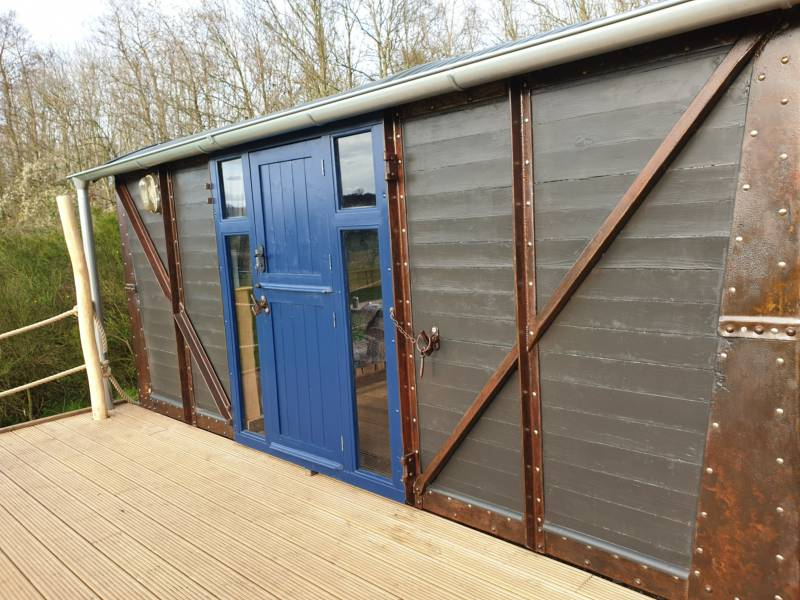 Berney - converted Railway Carriage