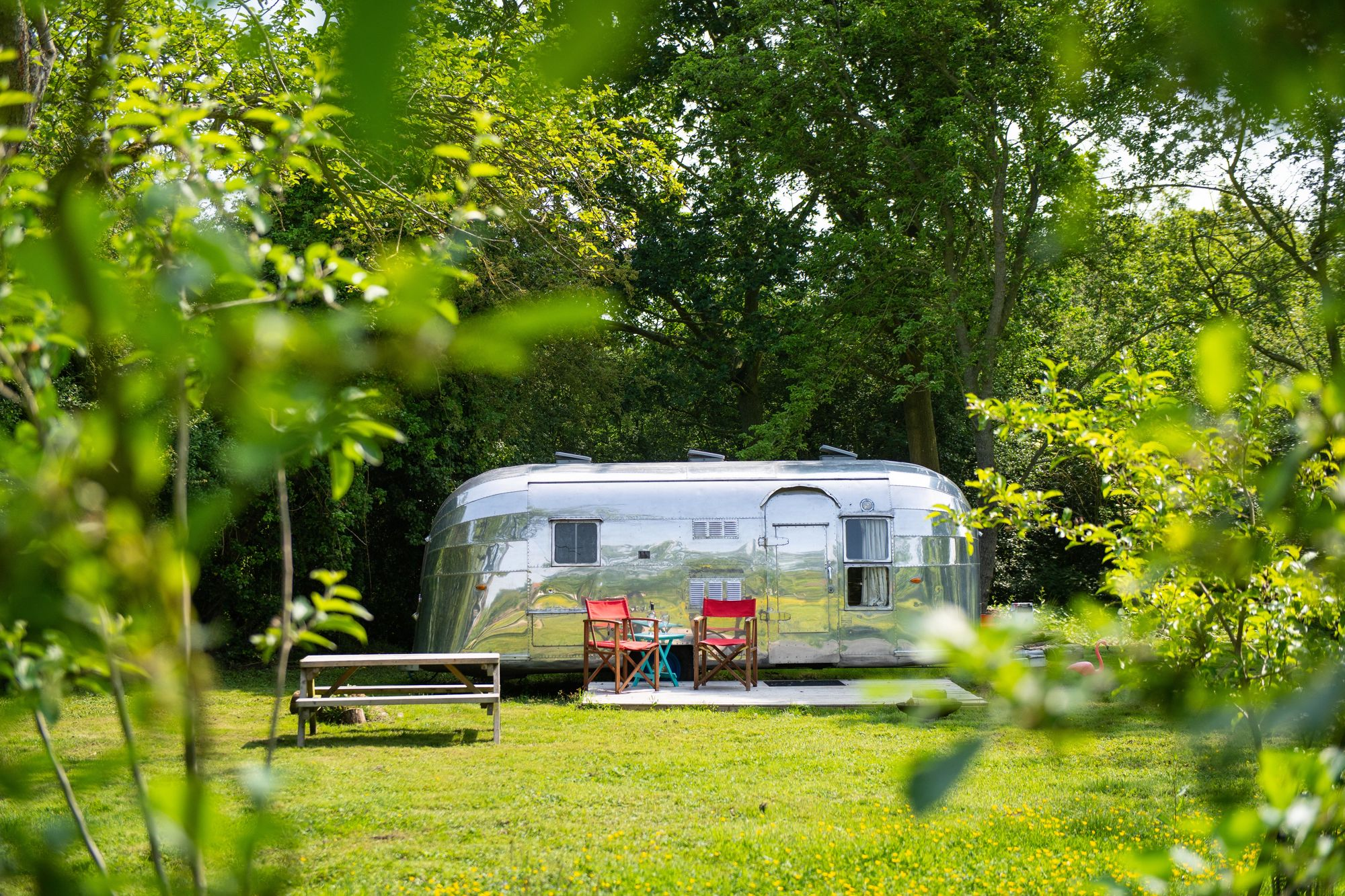 Glamping in Norwich holidays at Cool Camping