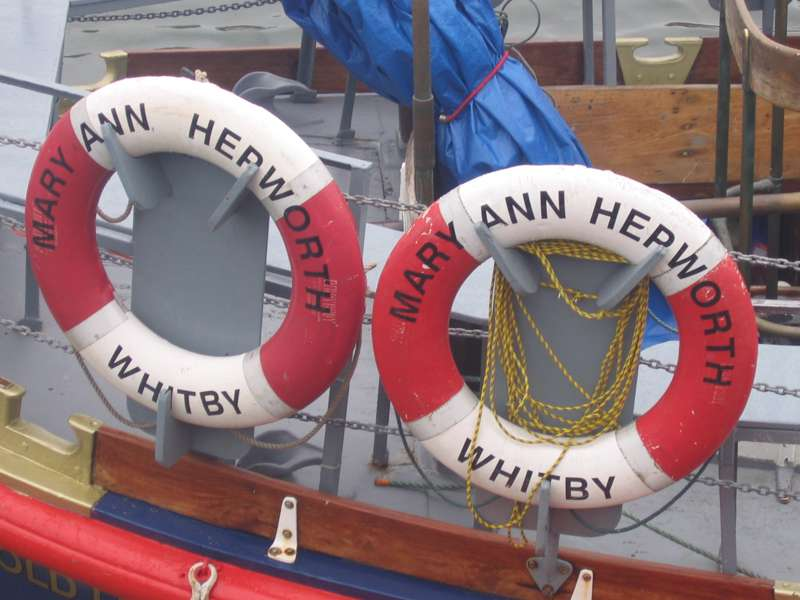 Mary Ann Hepworth Lifeboat Trip